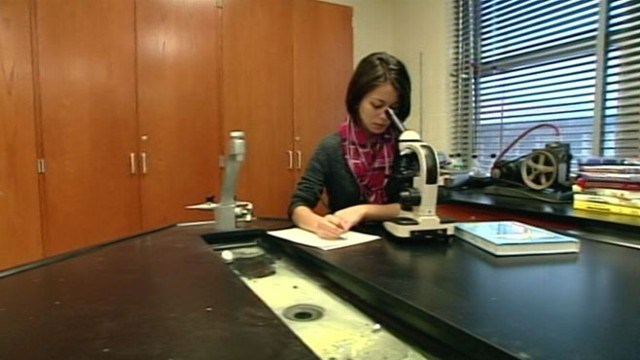 VIDEO: Teen girl overcomes obstacles to achieve success at Intel Science Competition.