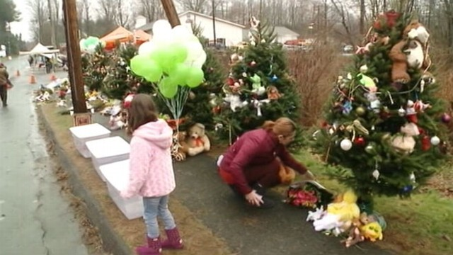 VIDEO: Funerals began for the victims of the Sandy Hook Elementary school shooting.