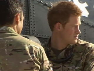 Watch: Prince Harry Arrives in Afghanistan for Secret Mission