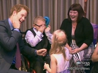 Watch: Prince Harry Pokes Fun at Himself for Nude Photos