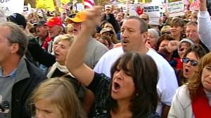 VIDEO: Protestors want to kill democratic health care bill