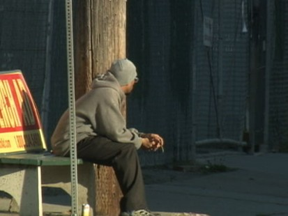 VIDEO: Claiborne in Oakland, Calif., where unemployment is three times the U.S. average