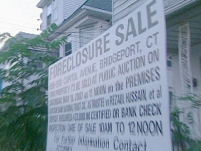 Foreclosusre sign