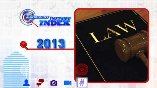 New Laws for 2013