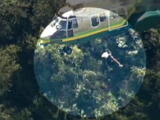 Watch: Instant Index: Hiker Hoisted to Safety off a Rocky Cliff
