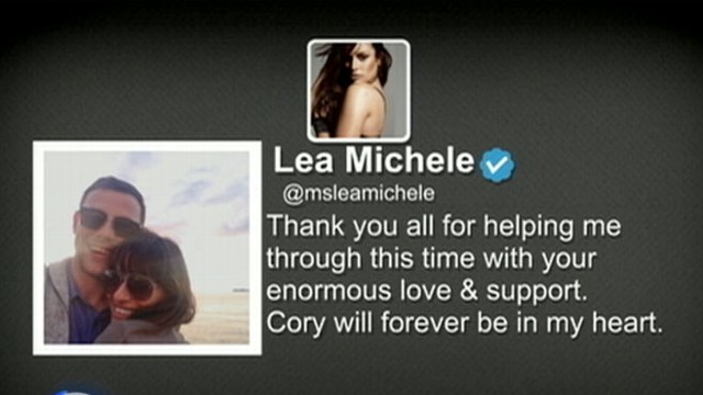 VIDEO: Instant Index: Lea Michele on Cory Monteiths Death