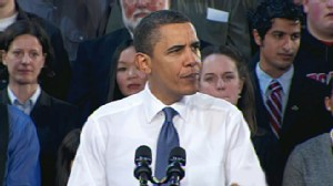 VIDEO: President claims health insurance industry puts profits before patient care.