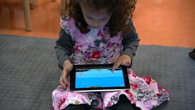 VIDEO: New study shows increased use of smart phones and tablets among children.