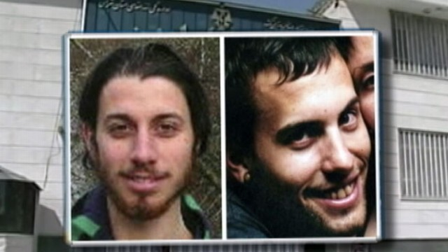 VIDEO: Shane Bauer and Josh Fattal face eight-year prison sentences.