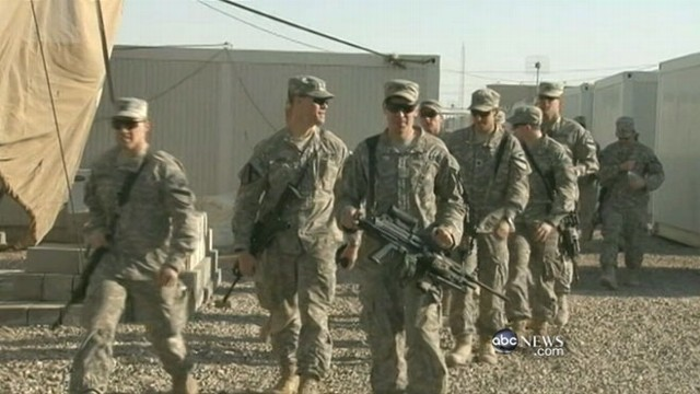 VIDEO: U.S. service members look back on the height of the war.