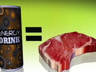 Watch: Health Risk Connection Found Between Steak and Energy Drinks