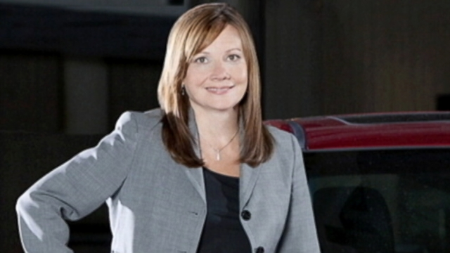 VIDEO: Barra is the first women ever to run one of Detroit's big three car corporations.