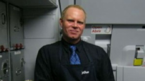 VIDEO: Flight Attendant Snaps and Becomes Hero
