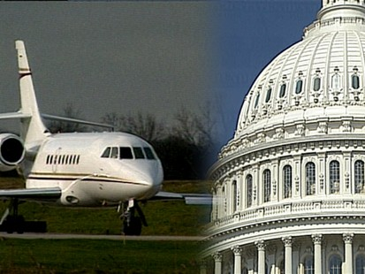 VIDEO: Senators Fly High on Your Tax Money
