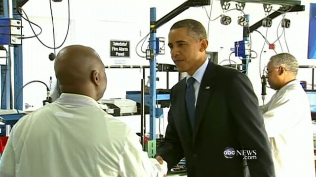 VIDEO: The president has a plan to create more jobs.