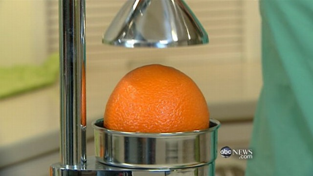 "VIDEO: Elisabeth Leamy looks into the making of juices branded ""100 percent pure."""