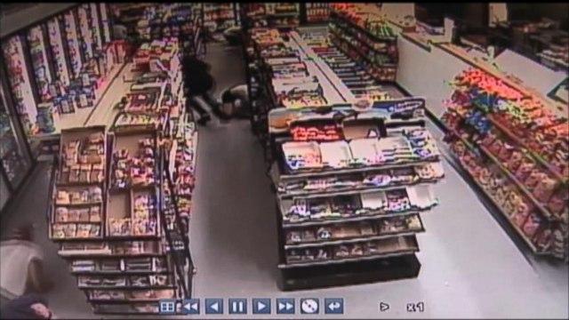 Surveillance Video of Santa Barbara Deadly Rampage