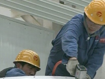 VIDEO: Jon Karl finds most green jobs created by the stimulus are created in China.