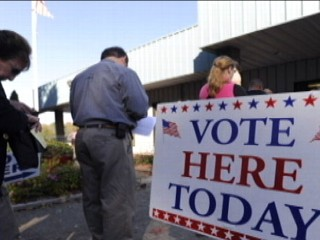 Watch: Early Voters Show Up in Record Numbers