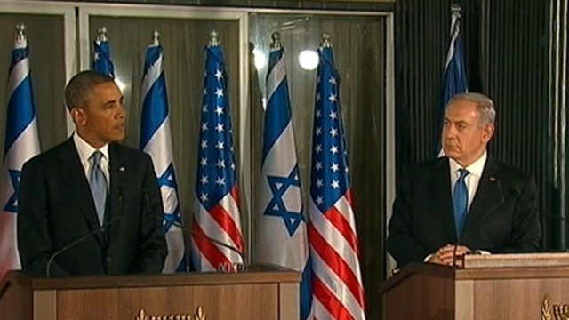 VIDEO:  Obama talks ties with Israel, nuclear war dangers with Israeli Prime Minister Benjamin Netanyahu.