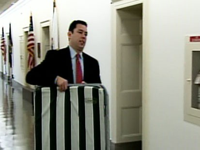 VIDEO: Rep. Jason Chaffetz lives on a cot in his office.