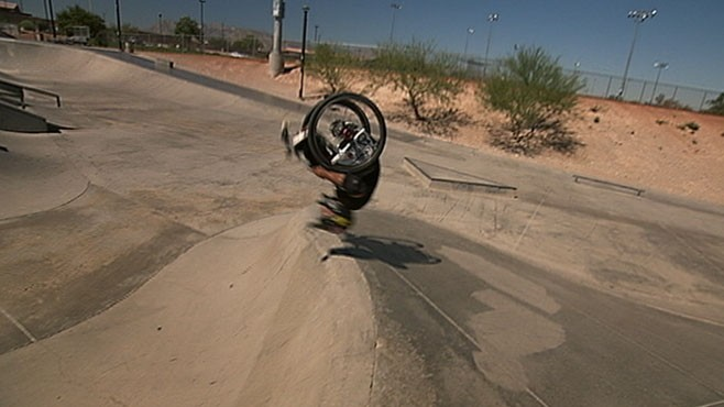 VIDEO: Spina Bifida can't stop Aaron Fotheringham from shredding.