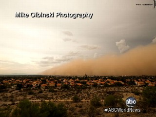 Watch: Dust Storm Blankets Phoenix: Time-Lapse Video