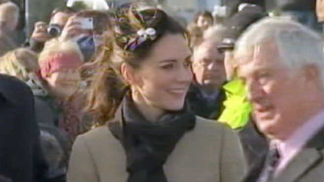 VIDEO: The Royal Couple performs their first royal duties, did Kate pass the test?