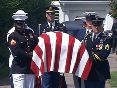 VIDEO: Ted Kennedys Final Journey to Boston