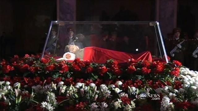 Kim Jong Il Dead N Korea Really Mourning Video Abc News
