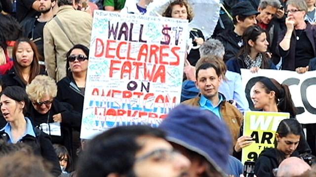 Wall Street Protests: Washington Picks a Side