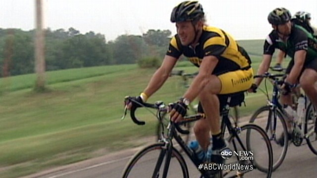 VIDEO: Cycling champions future in question following doping scandal.
