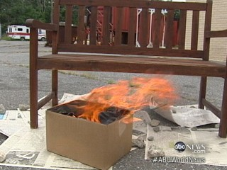 Watch: Linseed Oil and Spontaneous Combustion