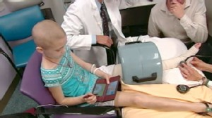 VIDEO: Bone cancer for kids normally means many surgeries; Morgan Larue only needed one