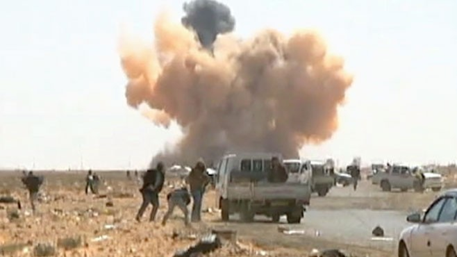 VIDEO: Crisis in Libya: Full Scale Civil War