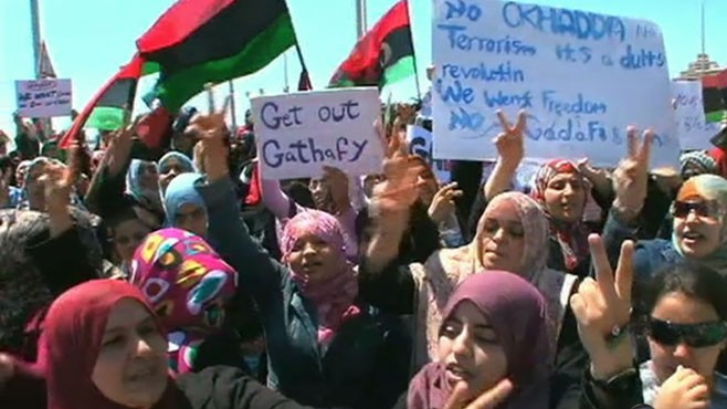 VIDEO: Rebels in Libya Lose Hold on Western City of Misrata