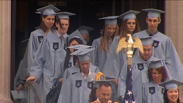 VIDEO: Most recent graduates will deal with major debt repayment.