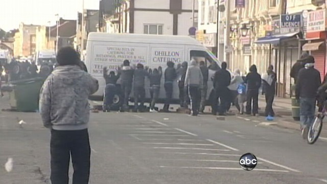 VIDEO: Violence spreads to other cities on fourth consecutive day of rioting.