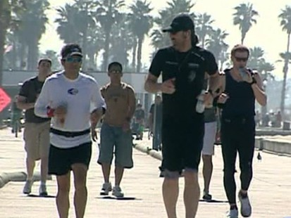 VIDEO: Running marathons to raise money