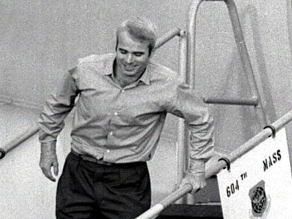 John McCain, A POW, Returns Home