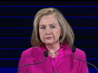 Watch: Is Hillary Clinton Dropping Clues to 2016 Presidential Race?