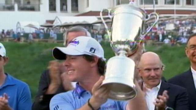 VIDEO: At age 22, golfs new phenom is youngest U.S. Open champion in almost 90 years.