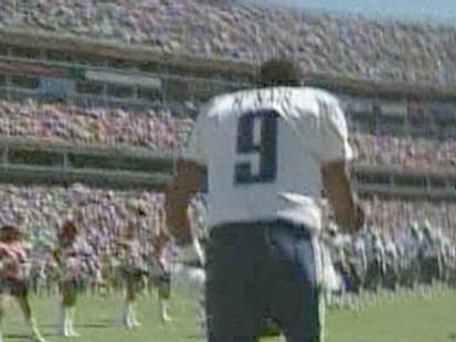 Ex-NFL Quarterback Steve McNair