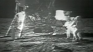 VIDEO: Remastered Video of Apollo 11 Moonwalk