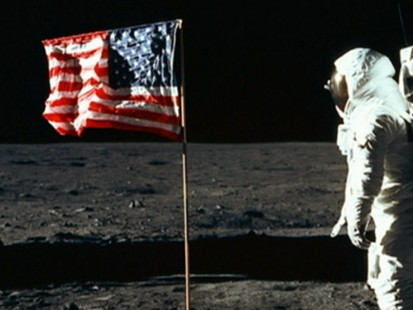 VIDEO: Apollo 11 Mission Uplifted Amerians Spirits