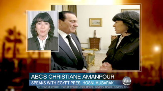 VIDEO: The Egyptian president makes his case for not stepping down quickly.