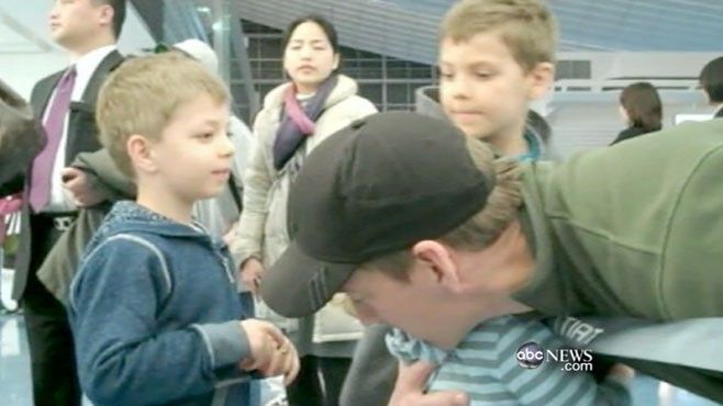 VIDEO: David Muir reports on those trying to leave the country.