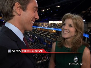 Watch: Caroline Kennedy at DNC
