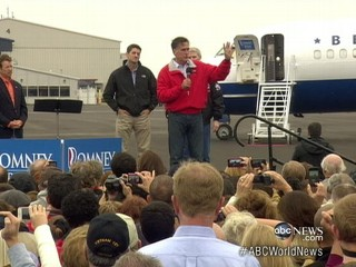 Watch: Romney Fights On in Battleground States