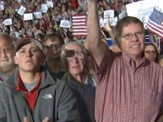 Watch: Mitt Romney Shows Strength With Male Voters
